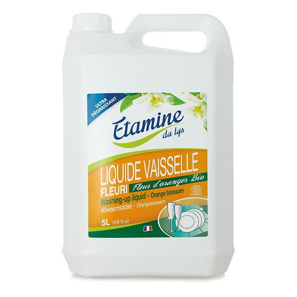 Etamine du Lys - Liquide vaisselle fleur d'oranger 5L