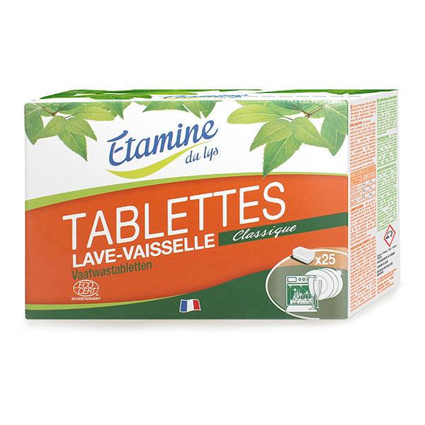 Etamine du Lys - Tablettes lave-vaisselle x25