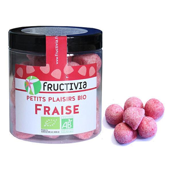 Fructivia - Mes p'tits bonbons fraise en pot 100g