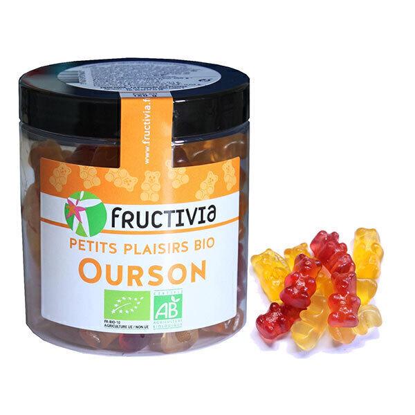 Fructivia - Mes p'tits bonbons oursons en pot 160g