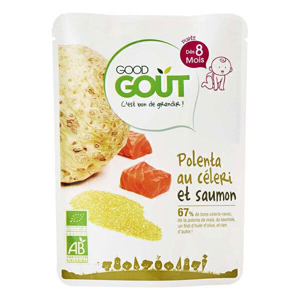 Good Gout - Lot de 2 x Petit Plat Polenta au Céleri et Saumon dès 8 mois