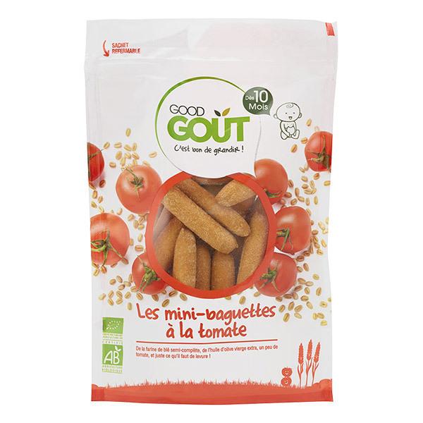 Good Gout - Mini baguettes à la tomate - Dès 10 mois -70g