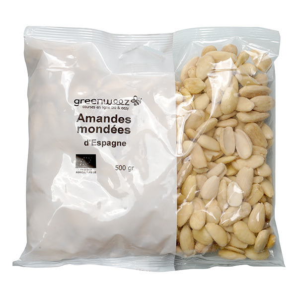 Greenweez - Amandes blanches 500g