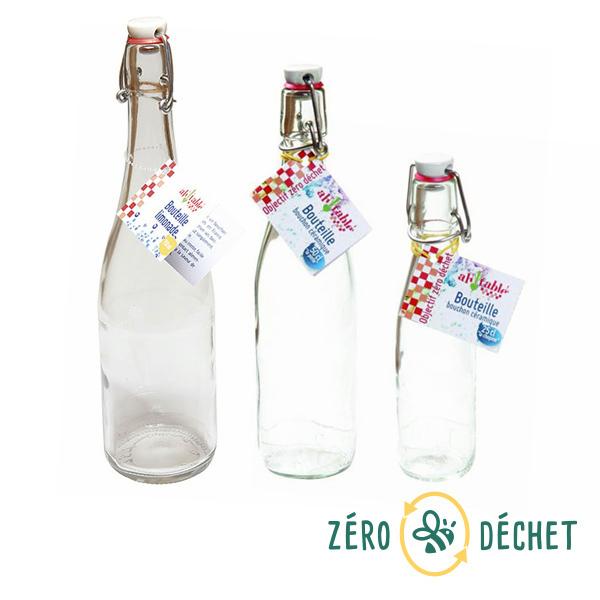 Packs Zéro Déchet - Pack découverte Zéro Déchet 3 bouteilles en verre