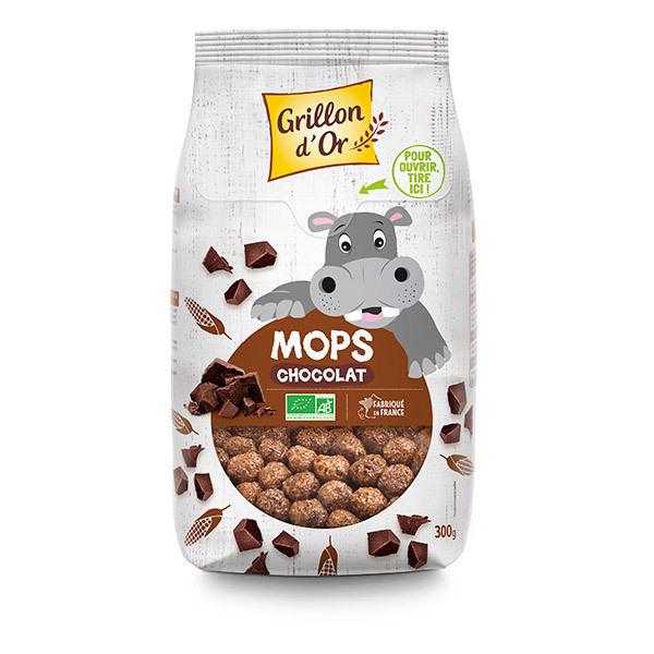Grillon d'or - Céréales Mops Chocolat 300g