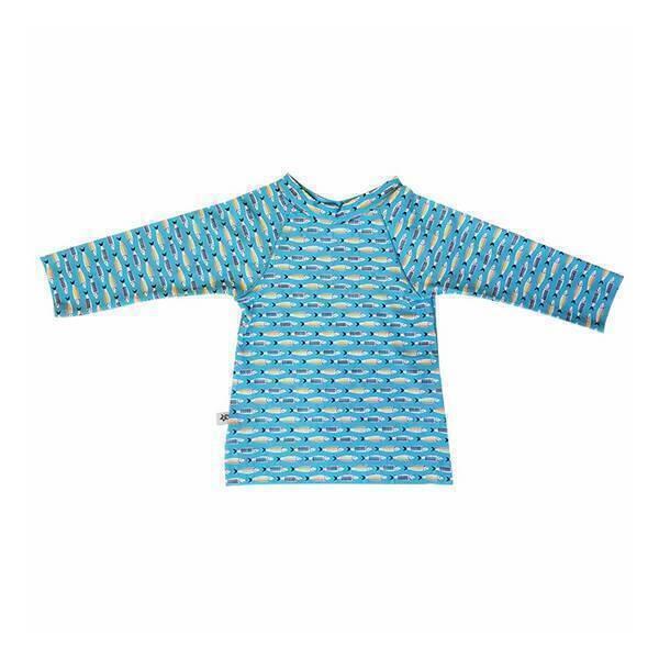 Hamac - T-shirt anti-UV Sardines - 12 mois