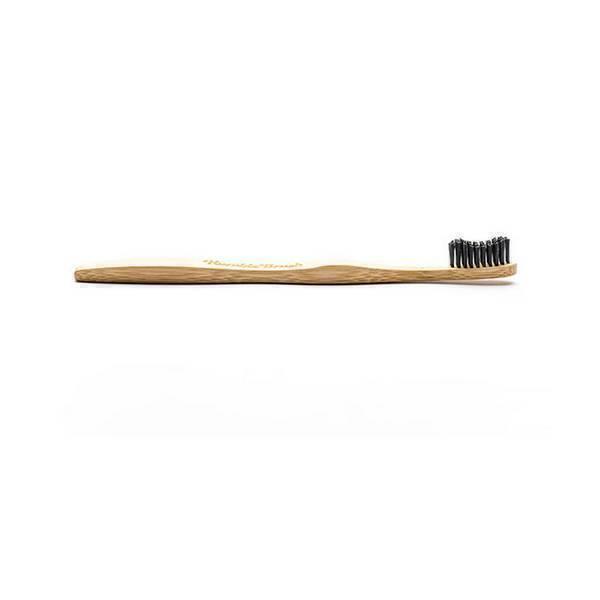 Humble brush - Brosse à dents adultes souple bambou Noir