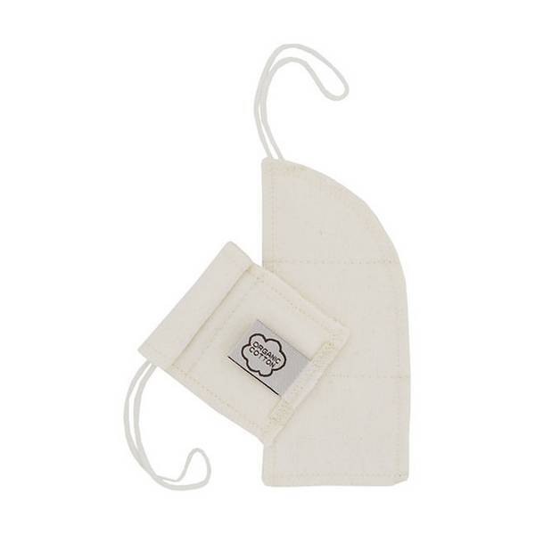 Imsevimse - Lot 8 tampons lavables naturels en coton flux mini
