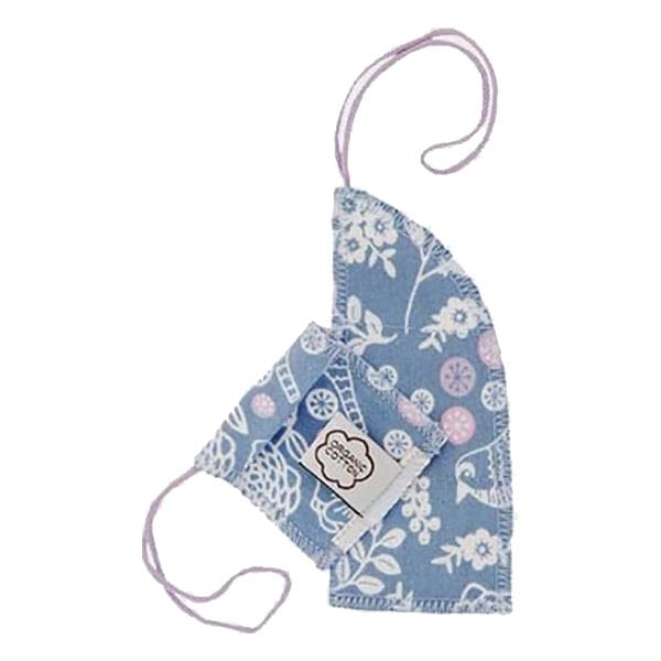 Imsevimse - Lot 8 tampons lavables naturels en coton garden flux mini