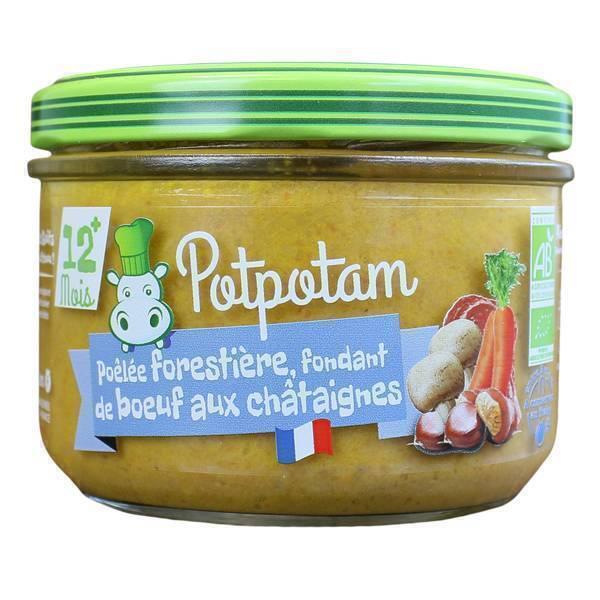 Potpotam - Petit pot pôélée forestière, fondant de boeuf châtaignes 20