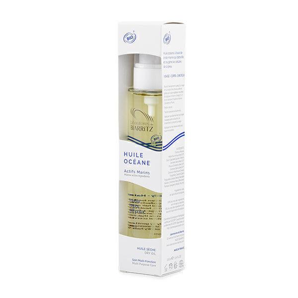 Laboratoires de Biarritz - Huile sèche Océane visage, corps, cheveux - 100 ml
