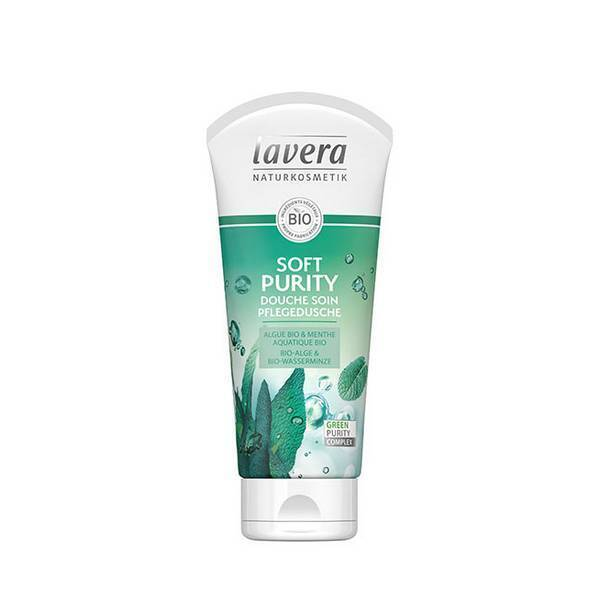 Lavera - Gel douche pureté menthe aquatique 200ml