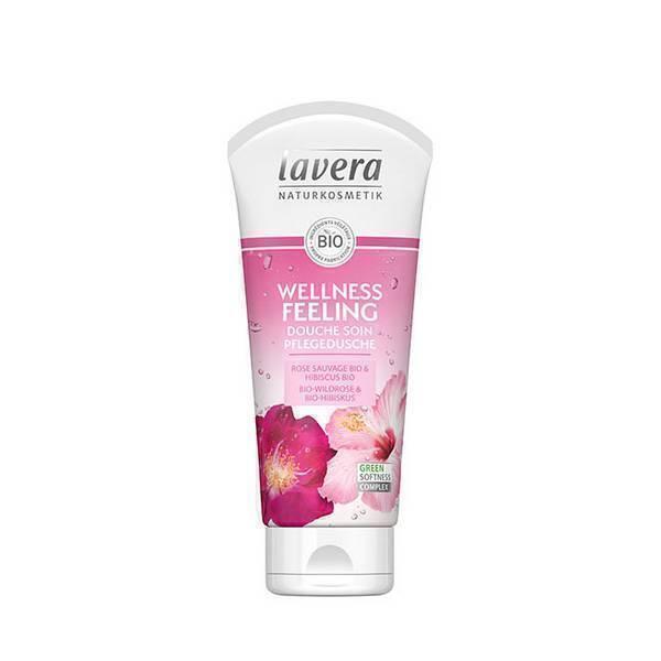 Lavera - Gel douche bien-être rose sauvage 200ml