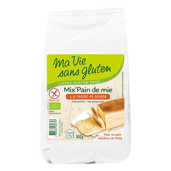 Ma Vie Sans Gluten - Mix Pain de mie Farine de Quinoa Bio 500g