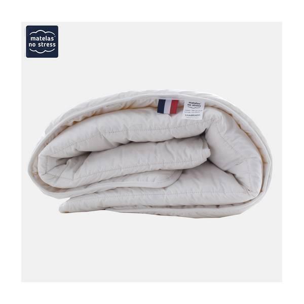 Matelas No Stress - Couette en laine vierge naturelle 110 x 160cm