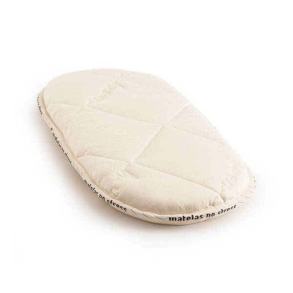 Matelas No Stress - Matelas couffin ovale Latex 30 x 70 x 6cm