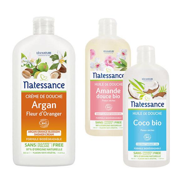 Natessance - Rituel Crème et huile de douche
