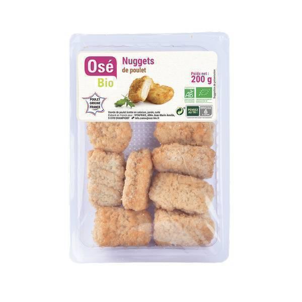 Osé Bio - Nuggets de poulet 200g