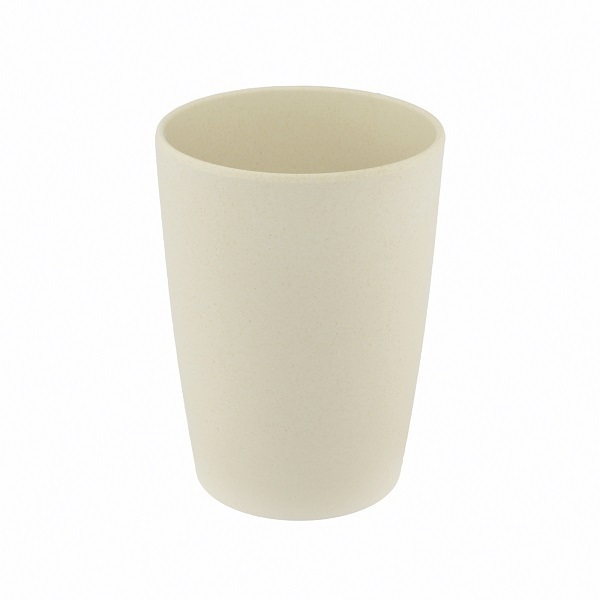 Point Virgule - Gobelet fibre de bambou Blanc cassé 35cl