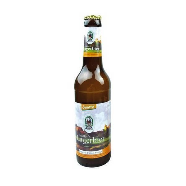 Pinkus - Bière blonde Lager Demeter 33cl