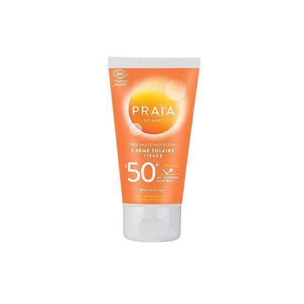 Praia - Crème solaire visage SPF50+ 50ml