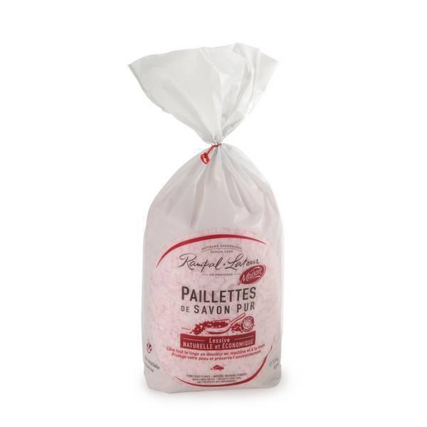 Rampal Latour - Paillettes de savon pur Rose de Grasse 1,5kg