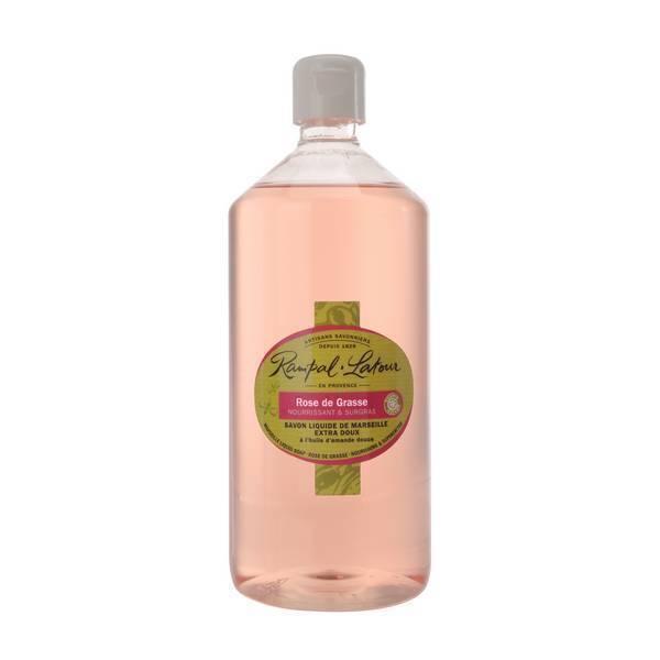 Rampal Latour - Savon liquide de Marseille Rose de Grasse 1L