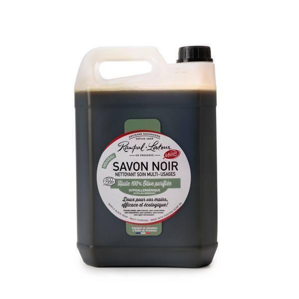 Rampal Latour - Savon noir à l'huile d'olive 5L