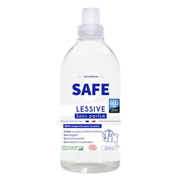 Safe - Lessive Sans parfum 100% naturelle 1L