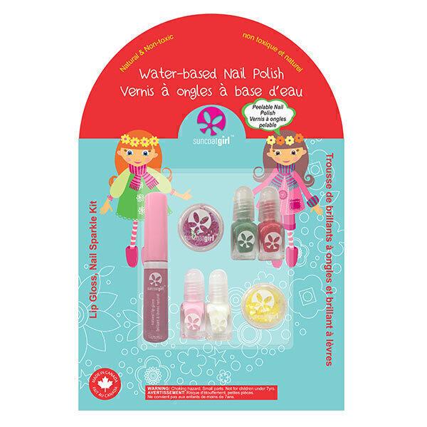 Suncoatgirl - Coffret Holiday Magic vernis et gloss à paillettes