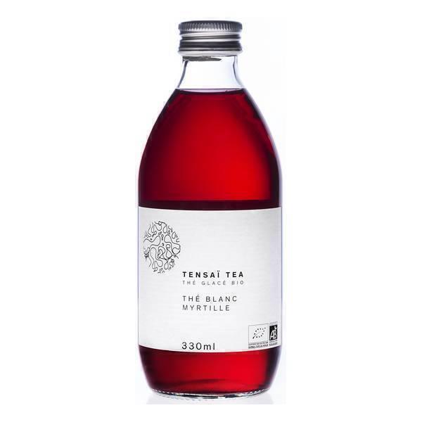 Tensaï Tea - Thé Blanc glacé Myrtille Bio 33cl