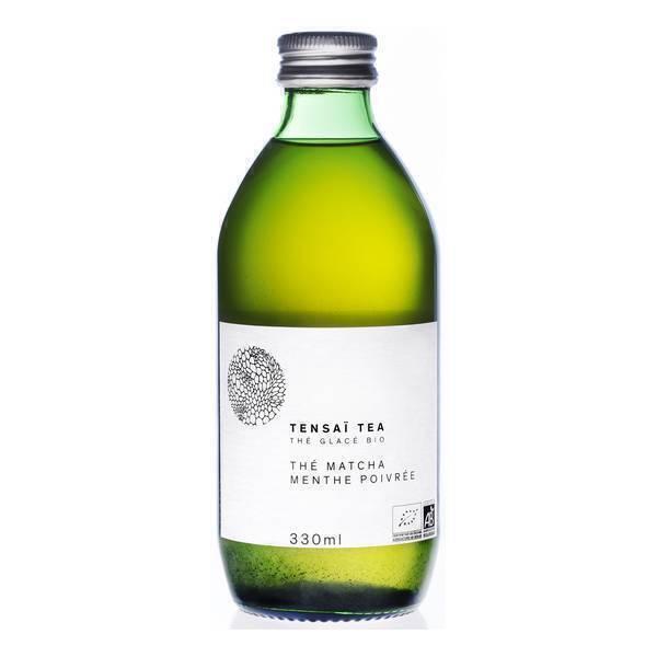 Tensaï Tea - Thé Matcha Menthe Poivrée Bio 33cl