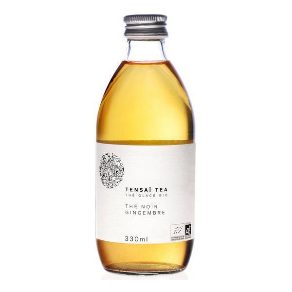 Tensaï Tea - Thé Noir glacé Gingembre Bio 33cl