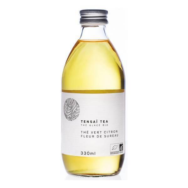 Tensaï Tea - Thé Vert Glacé Citron Fleur de Sureau bio 33cl