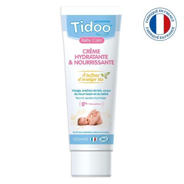 Tidoo - Crème hydratation intense à la fleur d'oranger 100ml