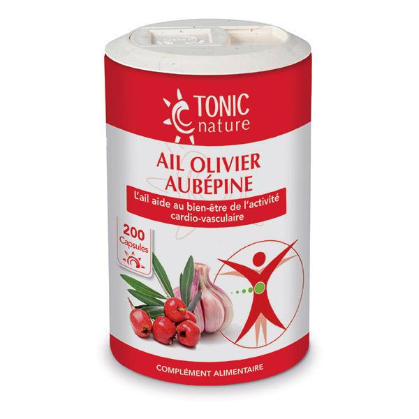 Tonic Nature - Ail Olivier Aubépine x 200 capsules