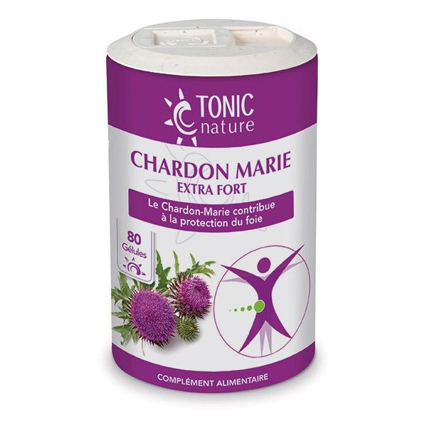 Tonic Nature - Chardon Marie Extrat Fort x 80 gélules