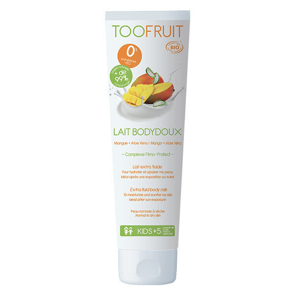 TOOFRUIT - Lait Bodydoux mangue aloé vera 150ml