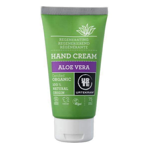 Urtekram - Crème mains hydratante a l'aloe vera 75ml