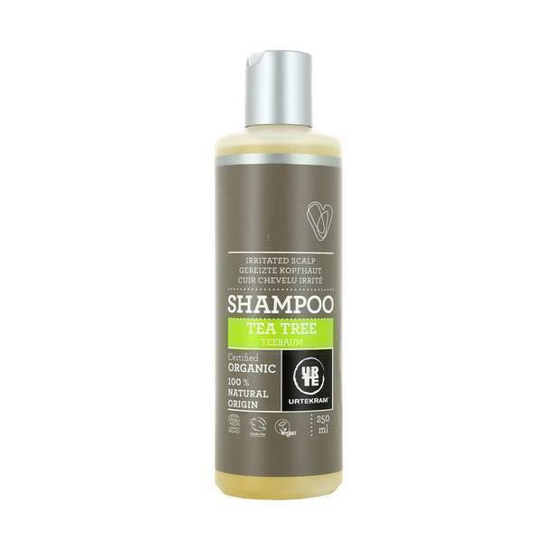 Urtekram - Shampoing cuir chevelu irrité à l'arbre thé 250ml