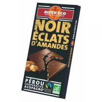 Alter éco - Chocolat noir Amandes bio