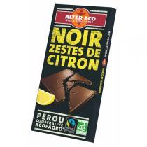 Alter éco - Chocolat noir citron bio