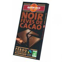 Alter éco - Chocolat noir fèves de cacao bio