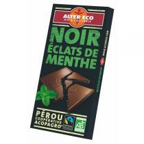 Alter éco - Chocolat noir menthe bio