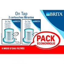 Brita - Pack de 2 Cartouches Brita On Tap