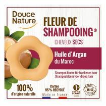 Douce Nature - Fleur de shampooing cheveux secs 85g