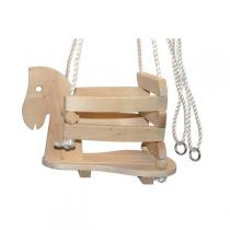 Equilibre et Aventures - Balançoire enfant forme cheval