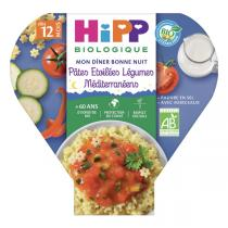 Hipp - Pâtes étoilées légumes méditerranée