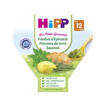 Hipp - Fondue d'épinards p. de terre saumon