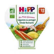 HiPP - 1 assiette Légumes du potager dinde dès 12 mois 230gr